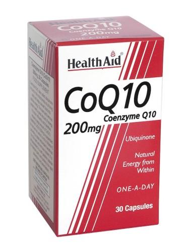Health Aid  Co Q10 200mg 30caps - 5019781015535