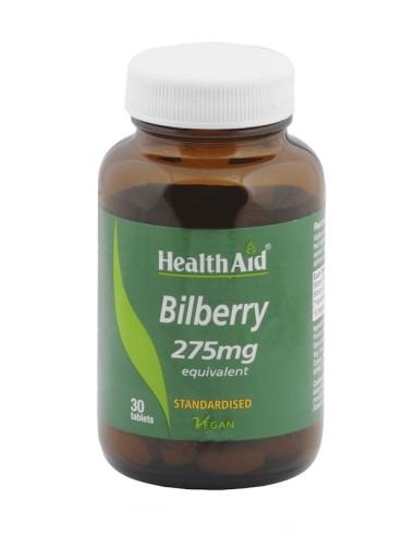 Health Aid Bilberry  30tabs - 5019781025268