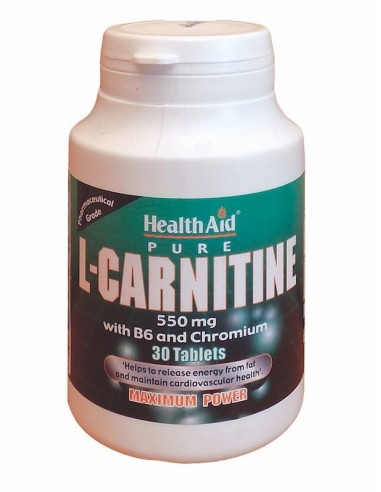 Health Aid L-Carnitine 30tabs