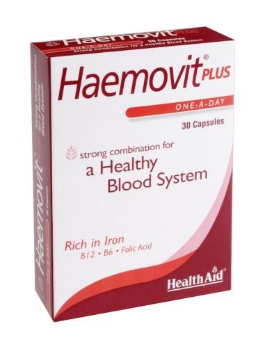 Health Aid Haemovit Plus 30caps - 5019781000227