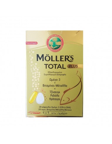 Moller's Total Plus 28 caps + 28 tabs - 5702071389262