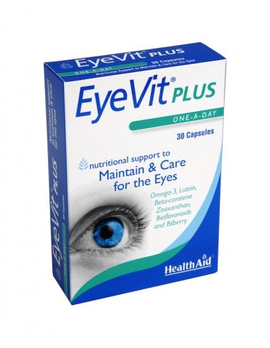 Health Aid Εye Vit Plus 30caps - 5019781010486