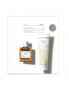 Korres Oceanic Amber Eau De Toilette, 50ml & Oceanic Amber After Shave Balm 125ml - 5203069102455