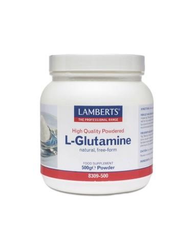 Lamberts L-Glutamine Powder 500gr - 505514840373
