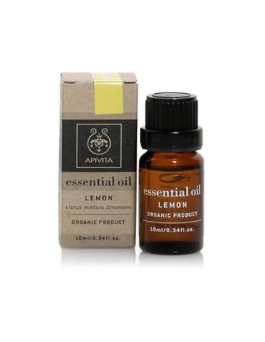 Apivita Essential Oil Lemon - Λεμόνι 10ml - 5201279005085
